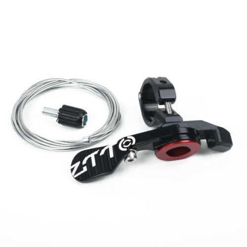 Black Bike Bicycle Metal Mechanical Seatpost Dropper Remote Lever Shifter Tools