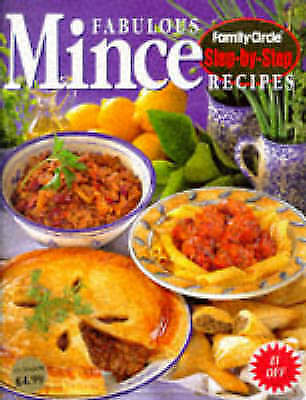"""AS NEW"" , Fabulous Mince Recipes - Family Circle - Step-by-Step, Book"