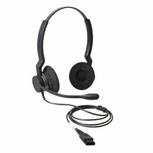 Jabra Biz 2300 Duo Noise Cancelling Telecoms Headset (2309-820-104)