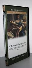 The Great Courses History Of European Part 1, 12 Lec. on 2 DVDs with Guidebooks