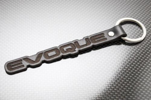 EVOQUE Leather Keyring RANGE ROVER SPORT TD4 Keychain Schlüsselring Porte-clés