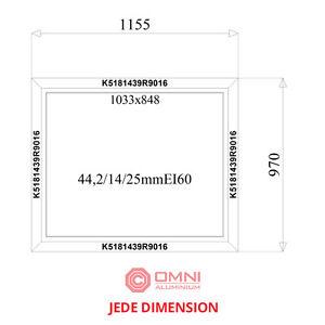 Brandschutz fenster f60 ei60 1155mm x 970mm extra for Angebot fenster