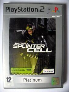 Jeu PS2 - Splinter Cell - Platinum