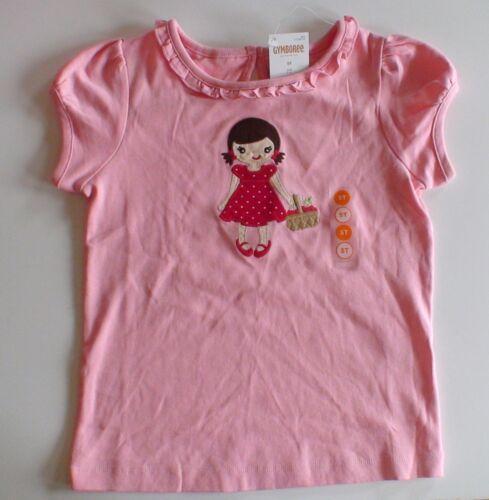 NWT GYMBOREE CHERRY CUTE PINK LITTLE GIRL POLKA DOT DRESS TOP SHIRT FALL BTS 3T