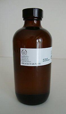 BODY SHOP PERFUME OIL - Dewberry Perfume Oil 12ml *VERY RARE*