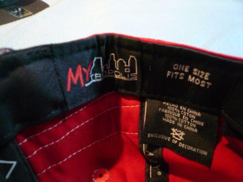 MYtropolis MYT NYC New York Skyline Snapback BRAND NEW hat cap Subway Logo NY