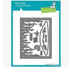 Lawn Fawn Lawn Cuts Die Set ~ PEEKABOO BACKDROP 3D  ~LF1626 Pop-Ups Flaps