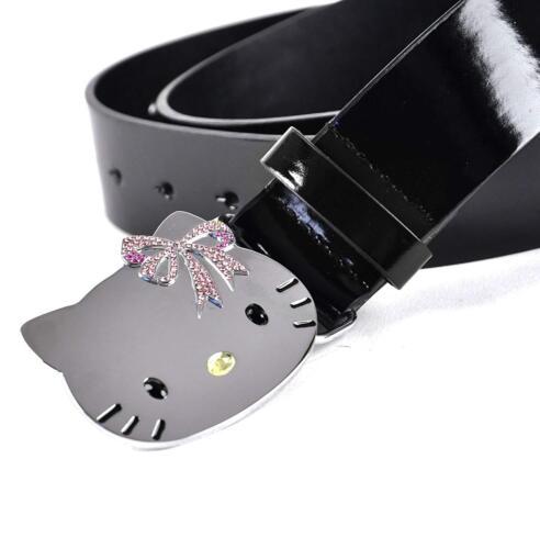 Hello Kitty Chrome Buckle /& Stones Belt