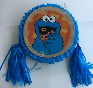 Details About Cookie Monster Pinata Party Game Party Decoration Free Shipping