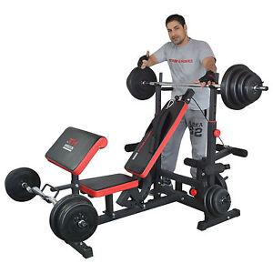 Trainhard multifonction Station de Musculation Banc de musculation abdominaux fitness station NEUF