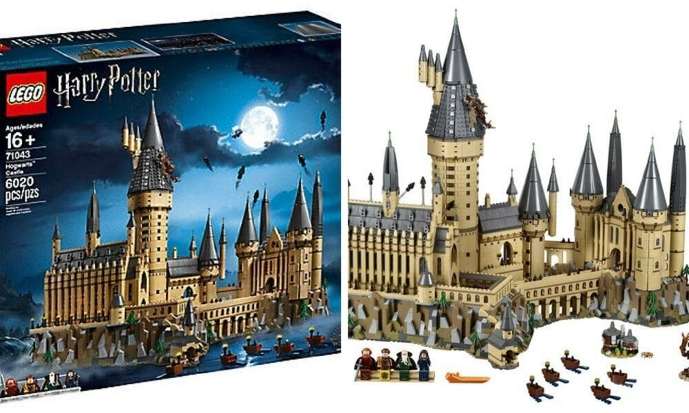 NEWLEGO HARRY POTTER POTTER POTTER HOGWARTS CASTLE71043IN HAND UPS SHIPS NOW 31f6e0