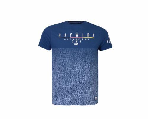 Haywire Logo T-shirt Per Bambini Ragazzi Pianura manica corta estate top nuovo 2-14 anni