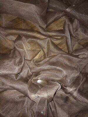 "1 mtr soft black diamante,tutu,decoration,bridal tulle net fabric..45""'wide"