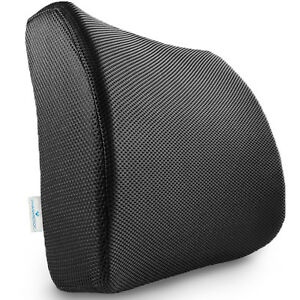 Memory-Foam-Lumbar-Support-Pillow-Seat-Cushion-for-Office-Chair-amp-Car-Seat