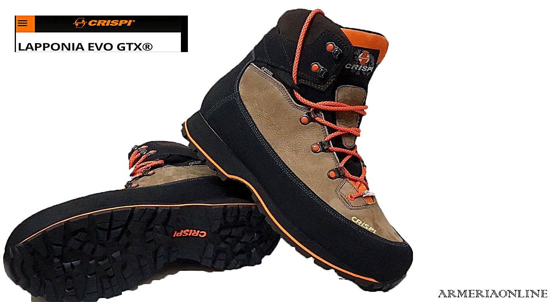 caccia per   Crispi Lapponia da caccia  trekking goretex tecnica impermeabile 82b285