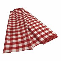 La Linen Checkered/gingham Fabric By The Bolt 58/60-inch. Made In Usa