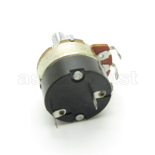 10x 500K Guitar Linear Taper Rotary Potentiometer Panel B500K With Switch OFF ON