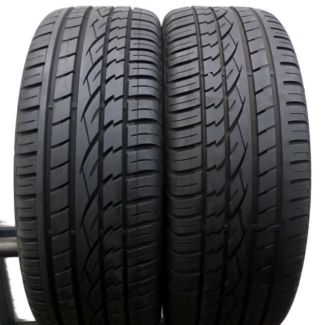 2 X Continental 235/60 r16 100 H 6,2 mm Cross Contact UHP pneus d'été dot16/12