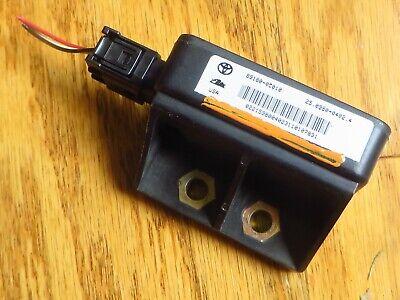 01 02 toyota sequoia yaw rate sensor 89183 oco10 stability control module 194 ebay ebay