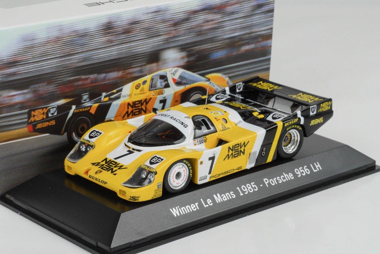 1985 PORSCHE 956 LH Joest New Man   7 Winner 24 H Le Mans 1 43 Spark Musée map