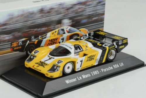 1985 Porsche 956 LH Joest New Man # 7  Winner 24H Le Mans 1:43 Spark Museum MAP