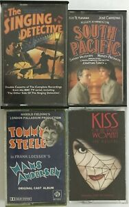 4 x Soundtracks & Musicals Cassette Tapes Job Lot - South Pacific, Hans Anderson