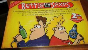 Board-Game-BATTLE-OF-THE-SEXES-2nd-Edition-Brand-New-Sealed