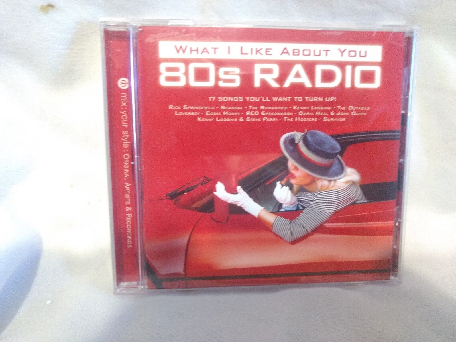 RARE What I Like About You 80s Radio 2007 Sony BMG Music Entertainment  Cd6877