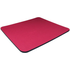 Red-Fabric-Mouse-Mat-Pad-High-Quality-5mm-Thick-Non-Slip-Foam-25cm-x-22cm