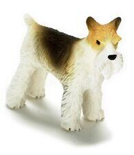 Dollhouse Miniature Resin Fox Terrier Dog by Falcon Miniatures
