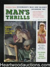 Man's Thrills Mar 1961 Diana Dors, Whipping