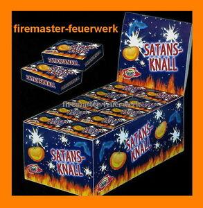 Satansknall-Knallerbsen-Trickknaller-Geburtstag-Silvester-Party-Kinderfeuerwerk