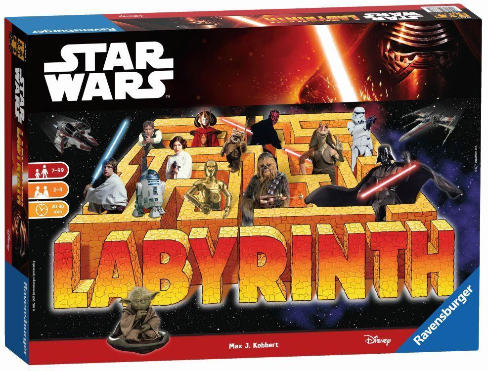 Ravensburger Star Wars Saga Labyrinthe Coulissantes jeu jeu de plateau jeu d'enfant jeu