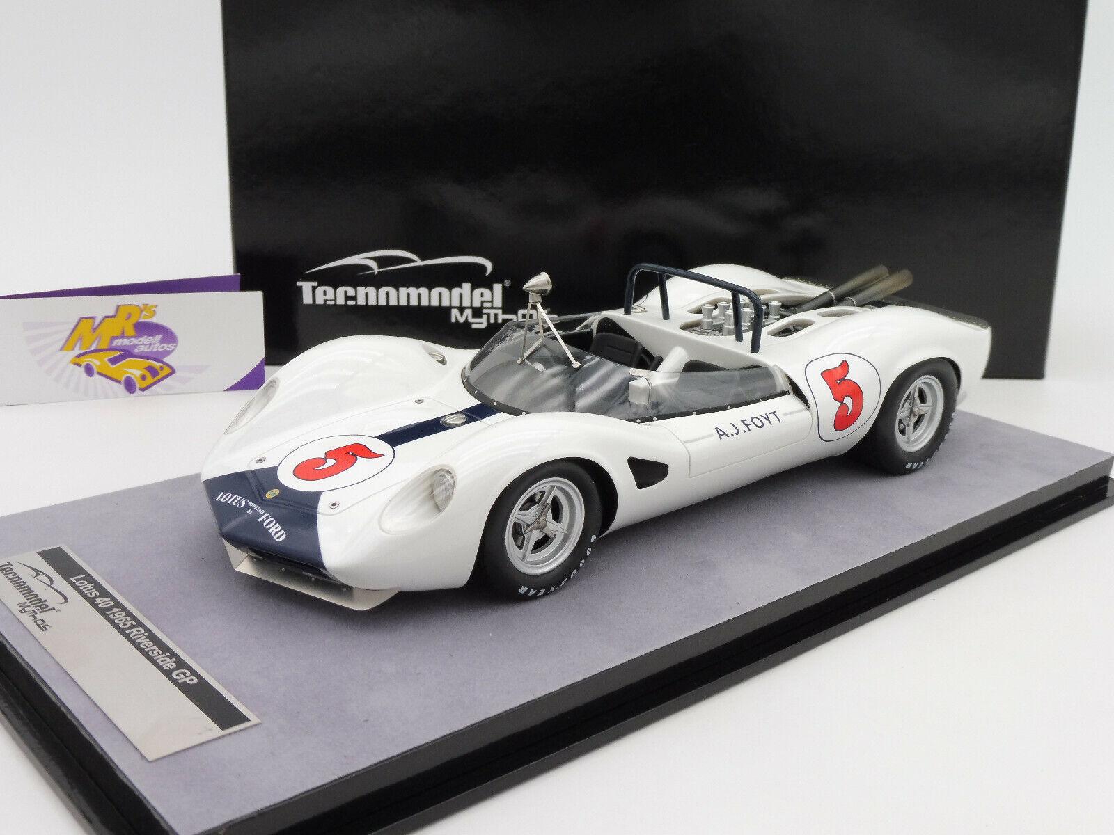 Tecnomodel tm18-125d # LOTUS 40 Riverside GP 1965