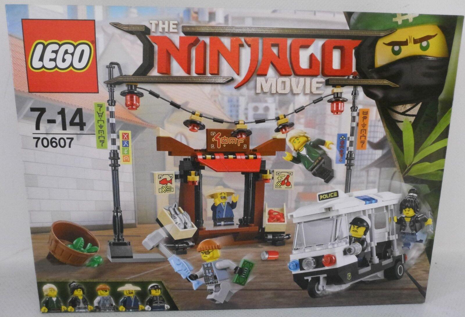 NEU LEGO® NINJAGO MOVIE 70607 Verfolgungsjagd in City OVP