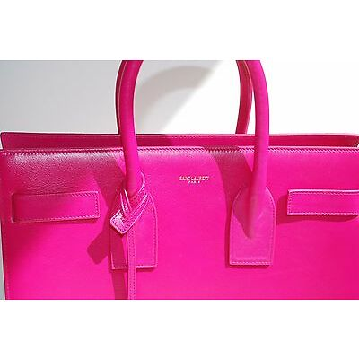 BRAND NEW AUTHENTIC- YSL YVES SAINT LAURENT Sac de Jour Small Pink