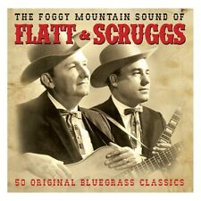 THE FOGGY MOUNTAIN SOUND OF FLATT & SCRUGGS - 50 BLUEGRASS CLASSICS (NEW 2CD)