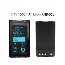 6x 2.0Ah Li-ion KNB-55L KNB-57L Battery for KENWOOD TK2160 TK3160 NX220 NX320