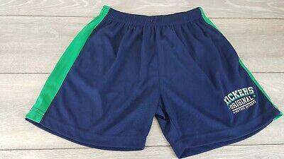Da Uomo Kickers Mesh Shorts Youth Navy Verde Età 11-12 Anni (lb) A343-34-mostra Il Titolo Originale