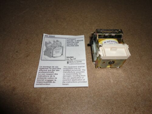 29391 SHT 30v DC Part No Merlin Gerin Voltage Release Compact MX