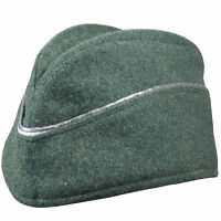 German Army Officers M40 Overseas Side Cap All Sizes Ww2 Repro Green Hat