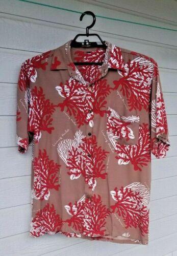 Hawaiian Shirts LIVING HULA Men/'s L-XL /& Tall all 100/% Rayon Discounted $2 each