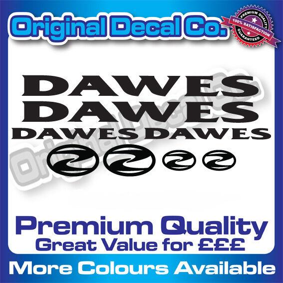 Qualité Premium Dawes Vélo Autocollants Mountain Stickers Mountain Autocollants Bike Frame MTB e606aa