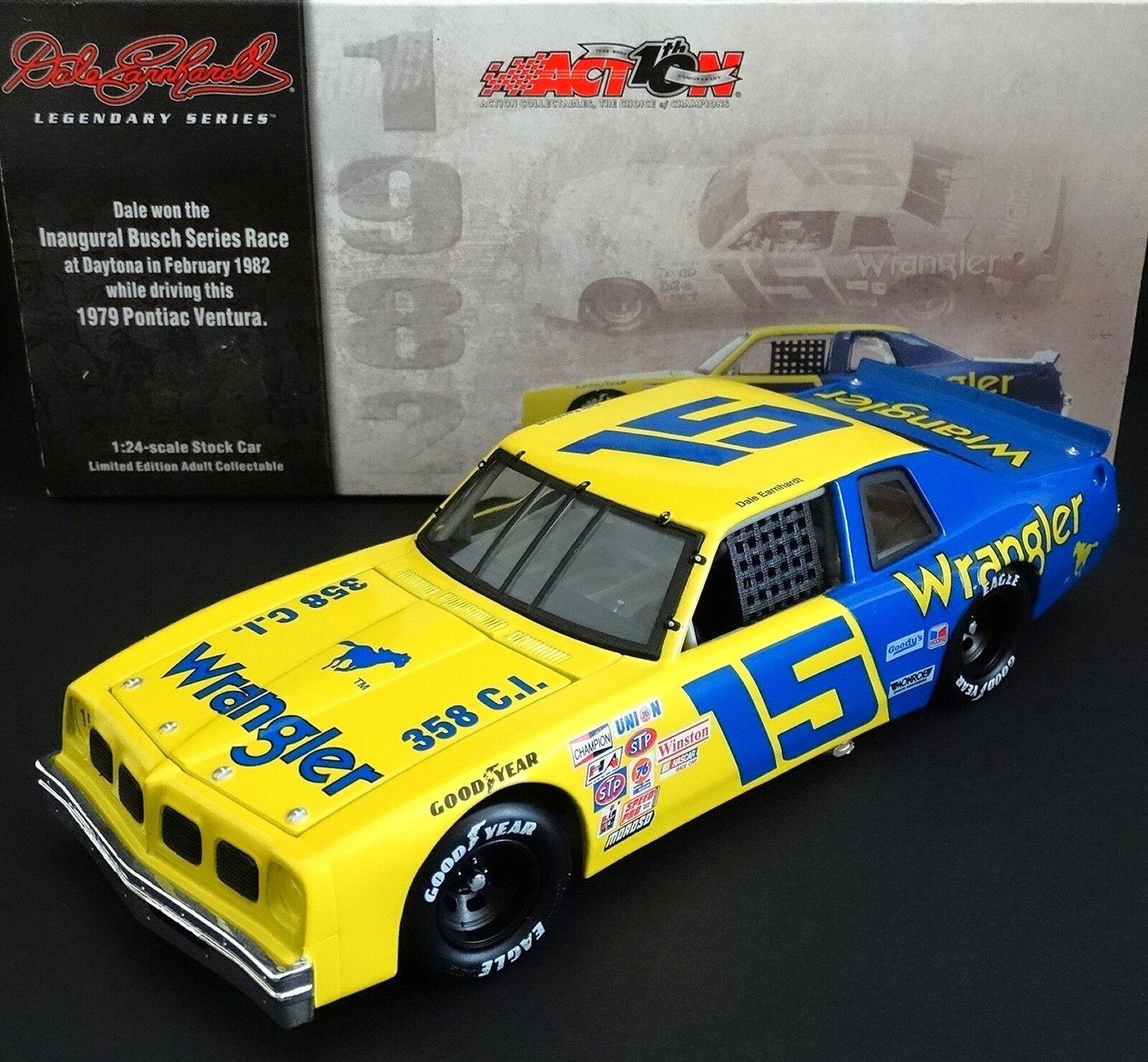 Dale Earnhardt,  Père  15 Wrangler Jeans 1 24 Action 1982 Daytona Win 1979  acheter une marque