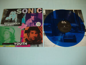 SONIC-YOUTH-Experimental-Jet-Set-12-034-BLUE-color-vinyl-album-LP-FACTORY-SEALED