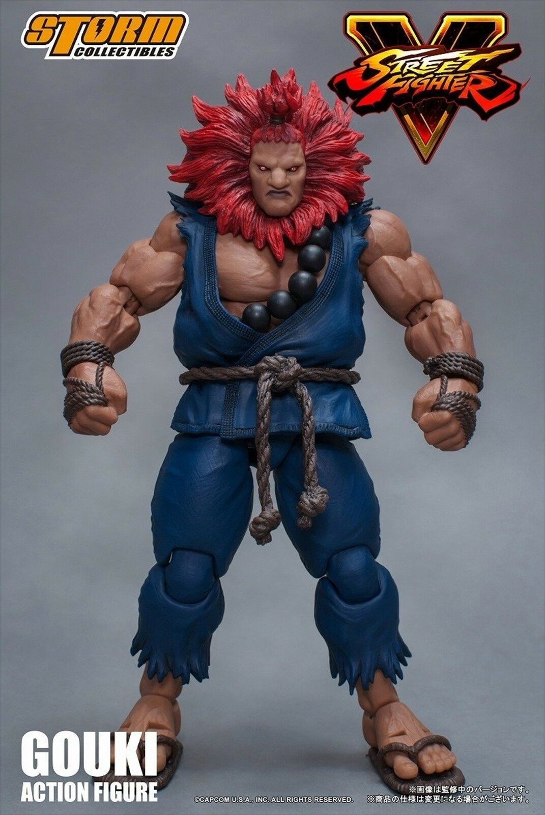 NEW Street Fighter V Akuma Gouki Action Figure Storm from Collectibles from Storm Japan 6eb4c5