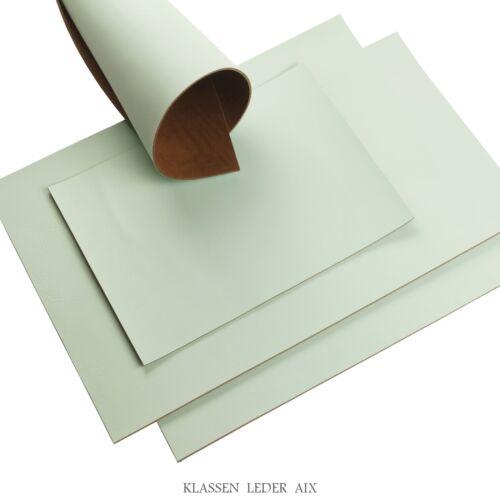 Rindleder Mint Pull-Up Design 2,5 mm Dickleder A3 Format Leather 39