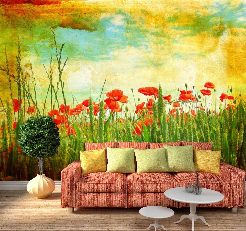 3D Carthame 678 Photo Papier Peint en Autocollant Murale Plafond Chambre Art