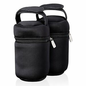 Details About Tommee Tip Insulated Bottle Bag Feed Baby Food Warmer Carrier Thermal Travel