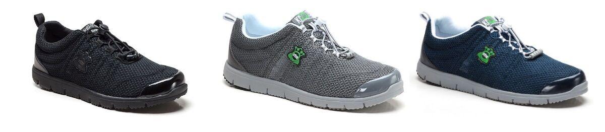 Kreden Travel Walker Mens Padded Collar shoes (3E) (M3209)